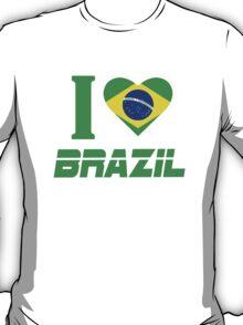 I LOVE BRAZIL T-Shirt