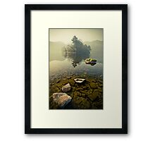Misty Clarity Framed Print