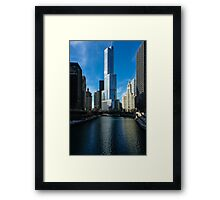 Chicago Blues Framed Print