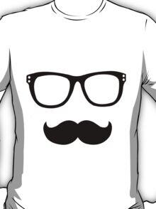 Nerd Mustache T-Shirt