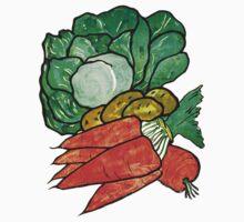 Lettuce, Carrots & Potatoes Baby Tee