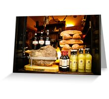 What's for Lunch - Deli in Italy  Greeting Card