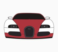 Bugatti Veyron Red Kids Clothes