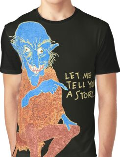 The Demon Storyteller Graphic T-Shirt