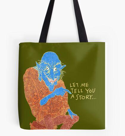 The Demon Storyteller Tote Bag