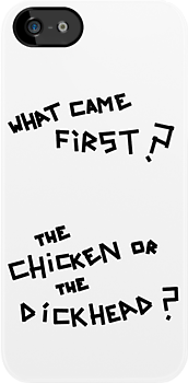 Arctic Monkeys - What Came First? The Chicken or the Dickhead? by Ollie Vanes