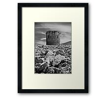 WATCH TOWER Framed Print
