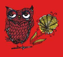 owl  One Piece - Short Sleeve