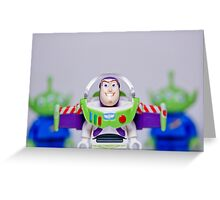 Play Time with Buzz Lightyear Greeting Card