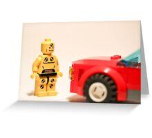 Crash Test Dummy Greeting Card