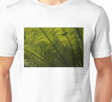 Tropical Green Curves and Diagonals Unisex T-Shirt