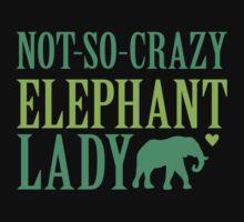 NOT-So-CRAZY elephant lady by jazzydevil