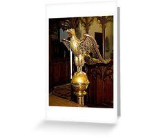 A bird of prayer Greeting Card