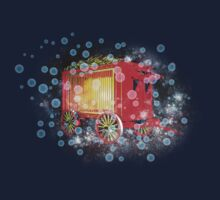 When the Circus Comes to Town t-shirt by Carol and Mike Werner