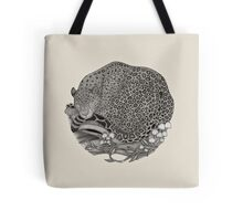 Jaguar Ink illustration Tote Bag