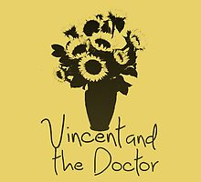 Vincent and the Doctor iPhone Case by Alexandra Grant