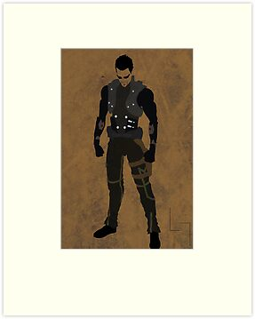 Adam Jensen by jehuty23