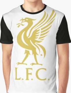liverpool logo gold Graphic T-Shirt