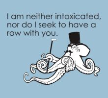 Sober Octopus Does Not Want To Fight You by AngryMongo