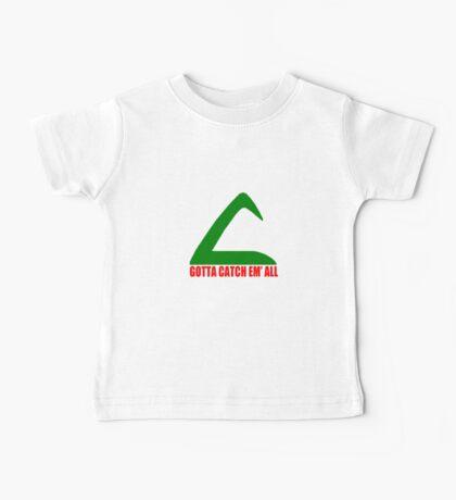 Ash Ketchum Logo Pokemon Baby Tee