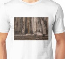 Weathered Wooden Abstracts - Take Two Unisex T-Shirt