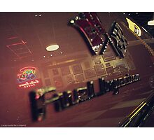 FUEL INJECTION Photographic Print