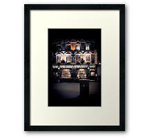 Sherlock Holmes pub Framed Print