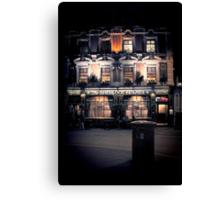 Sherlock Holmes pub Canvas Print