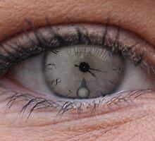 Eye Clock by Lucyspellerr