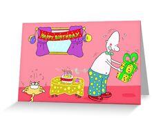 Happy Buffday! Greeting Card