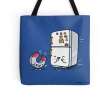 The force of attraction Tote Bag