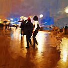 shanghai in the rain by marcwellman2000