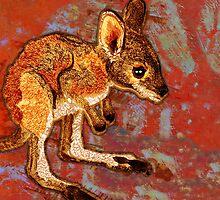 Kangaroo Joey by evisionarts