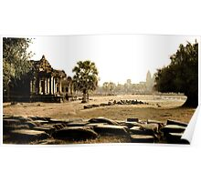 Cambodia: Angkor Wat Poster