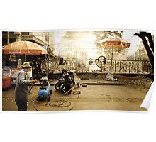 Cambodia: Scooter Repairs Poster