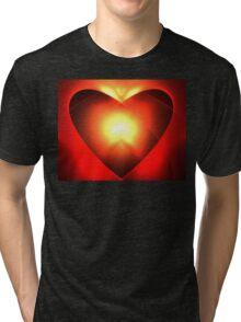 Heart Soul Tri-blend T-Shirt