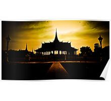 Cambodia: Sunset Temple Poster