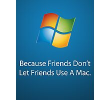 Windows Poster Photographic Print