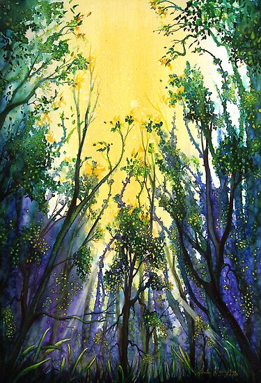 Forest Light by © Linda Callaghan