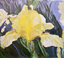 Churchyard Iris by Edrie Bays