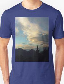 Silhouettes of Trees In The San Bernardino Mountains T-Shirt