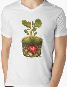 OXFAM - GROW CAMPAIGN ENTRY  Mens V-Neck T-Shirt