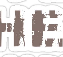 AYE sHE Sticker