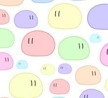 Dango | White Background Edition Sticker