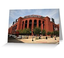 Busch Stadium - St. Louis Cardinals Greeting Card