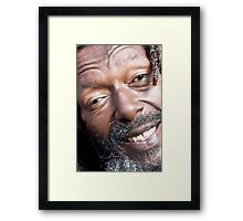 mr butch sauntered Framed Print