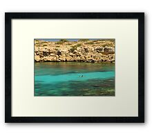 Coral Hunt Framed Print