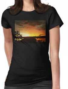 thrill sunset Womens Fitted T-Shirt
