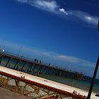 Glenelg Pier by John Papaioannou