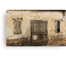 Sad Old and Lonely House Canvas Print